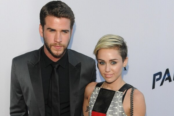 Miley Cyrus e Liam Hemsworth story